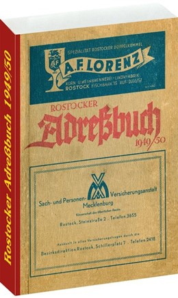 Abbildung von ROSTOCKER ADRESSBUCH 1949/50 | 1. Auflage | 2016 | beck-shop.de