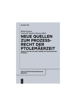 Abbildung von Kramer / Sánchez-Moreno Ellart | Neue Quellen zum Prozeßrecht der Ptolemäerzeit | 2017 | Gerichtsakten aus der Trierer ... | 36