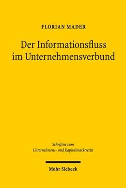 Abbildung von Mader | Der Informationsfluss im Unternehmensverbund | 1. Auflage | 2016 | beck-shop.de