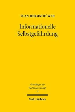 Abbildung von Hermstrüwer | Informationelle Selbstgefährdung | 2016 | Zur rechtsfunktionalen, spielt... | 31