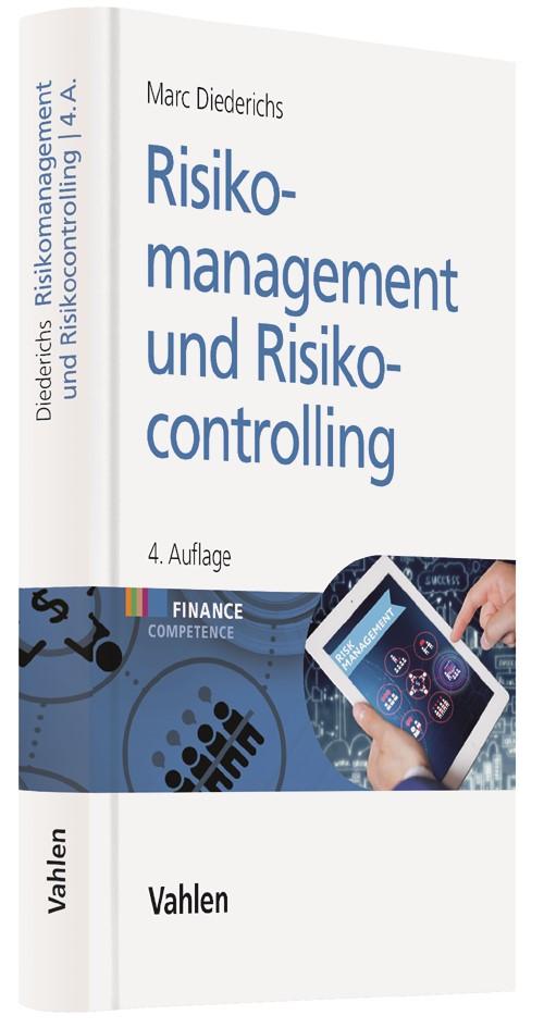 Risikomanagement und Risikocontrolling | Diederichs | 4., vollständig überarbeitete und ergänzte Auflage, 2017 | Buch (Cover)