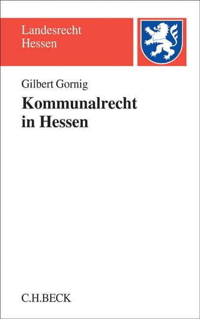 Kommunalrecht in Hessen   Gornig, 2017   Buch (Cover)