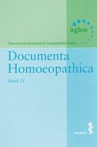 Abbildung von Documenta Homoeopathica   2016