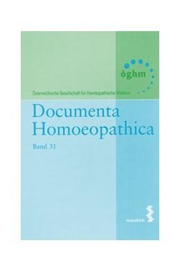 Abbildung von Documenta Homoeopathica | 2016