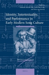 Abbildung von Poel / Grijp / Anrooij | Identity, Intertextuality, and Performance in Early Modern Song Culture | 2016