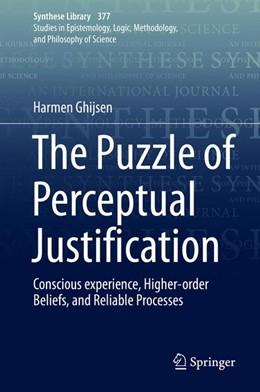 Abbildung von Ghijsen | The Puzzle of Perceptual Justification | 1st ed. 2016 | 2016