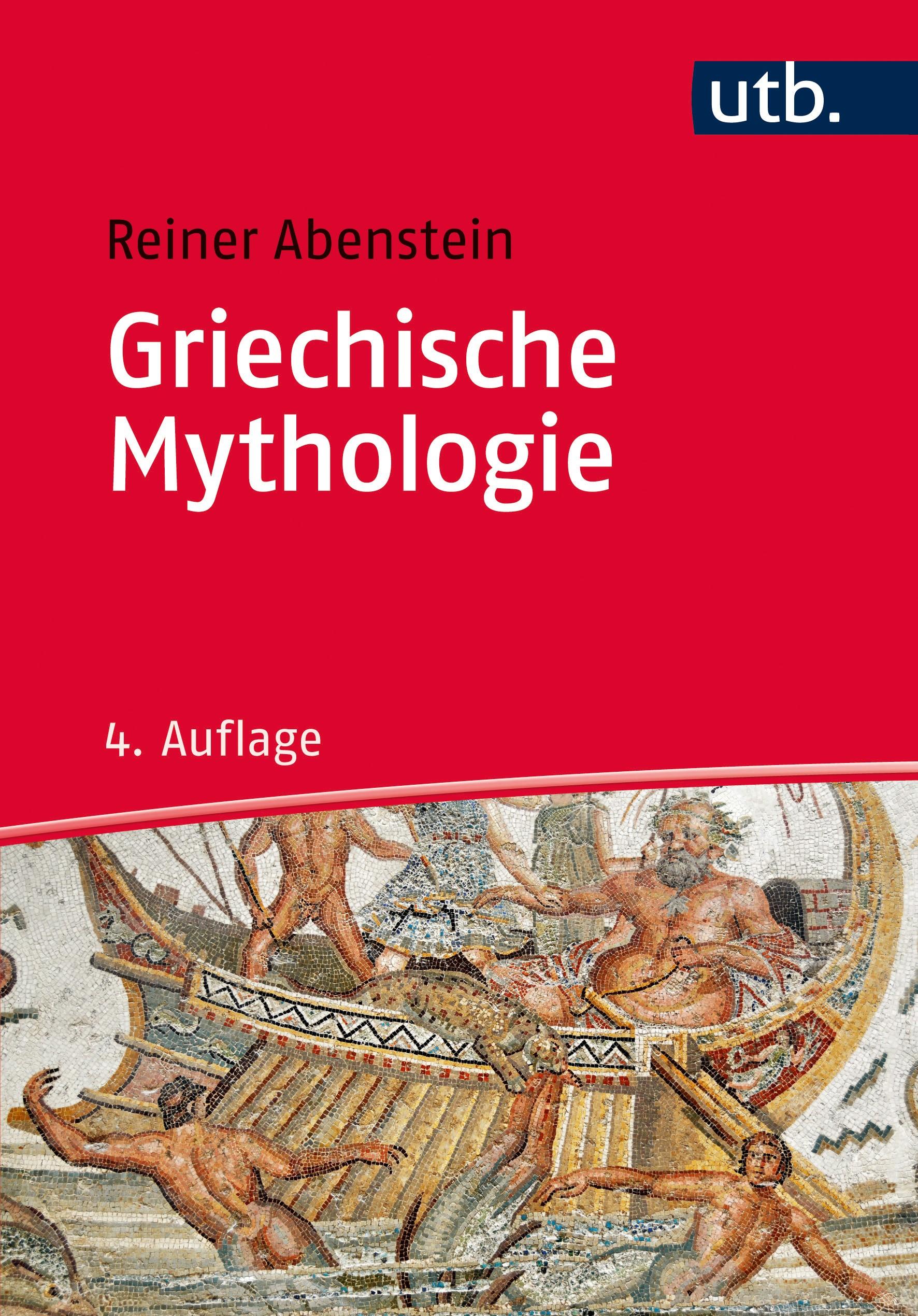 Griechische Mythologie | Abenstein | aktual. Aufl., 2016 | Buch (Cover)