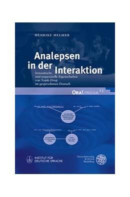 Abbildung von Helmer | Analepsen in der Interaktion | 1. Auflage | 2016 | 13 | beck-shop.de