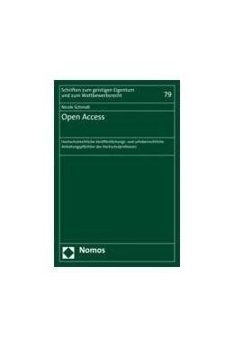 Abbildung von Schmidt | Open Access | 2016 | Hochschulrechtliche Veröffentl... | 79