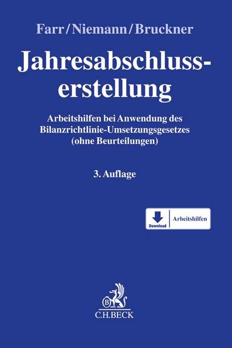 Jahresabschlusserstellung | Farr / Niemann / Bruckner | 3. Auflage, 2016 (Cover)