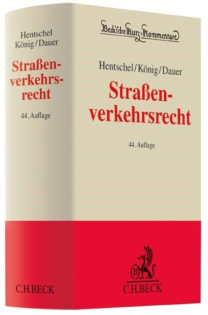 Straßenverkehrsrecht | Hentschel / König / Dauer | 44. Auflage, 2016 | Buch (Cover)