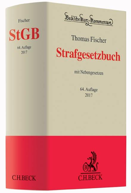 Strafgesetzbuch: StGB | Fischer | 64. Auflage, 2016 | Buch (Cover)