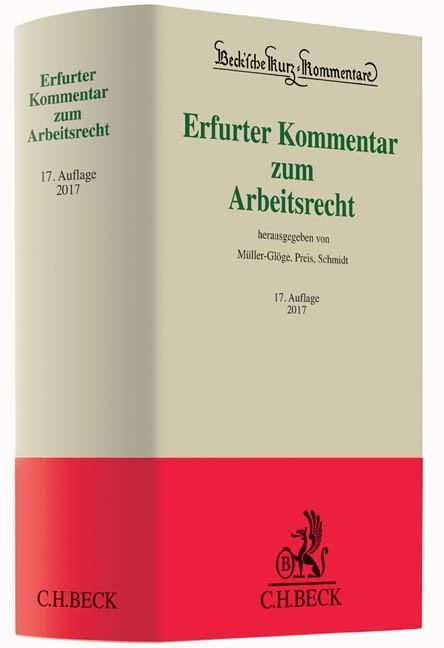 Erfurter Kommentar zum Arbeitsrecht   Buch (Cover)