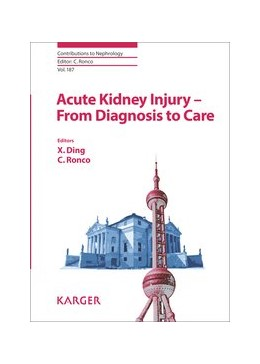 Abbildung von Ding / Ronco | Acute Kidney Injury - From Diagnosis to Care | 2016