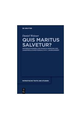 Abbildung von Weisser | Quis maritus salvetur? | 2016 | Untersuchungen zur Radikalisie... | 70