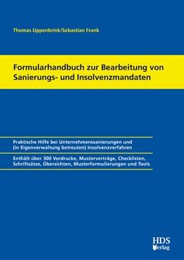 Abbildung von Uppenbrink / Frank   Formularsammlung zur Bearbeitung von Sanierungs- und Insolvenzmandaten   2. Auflage   2019