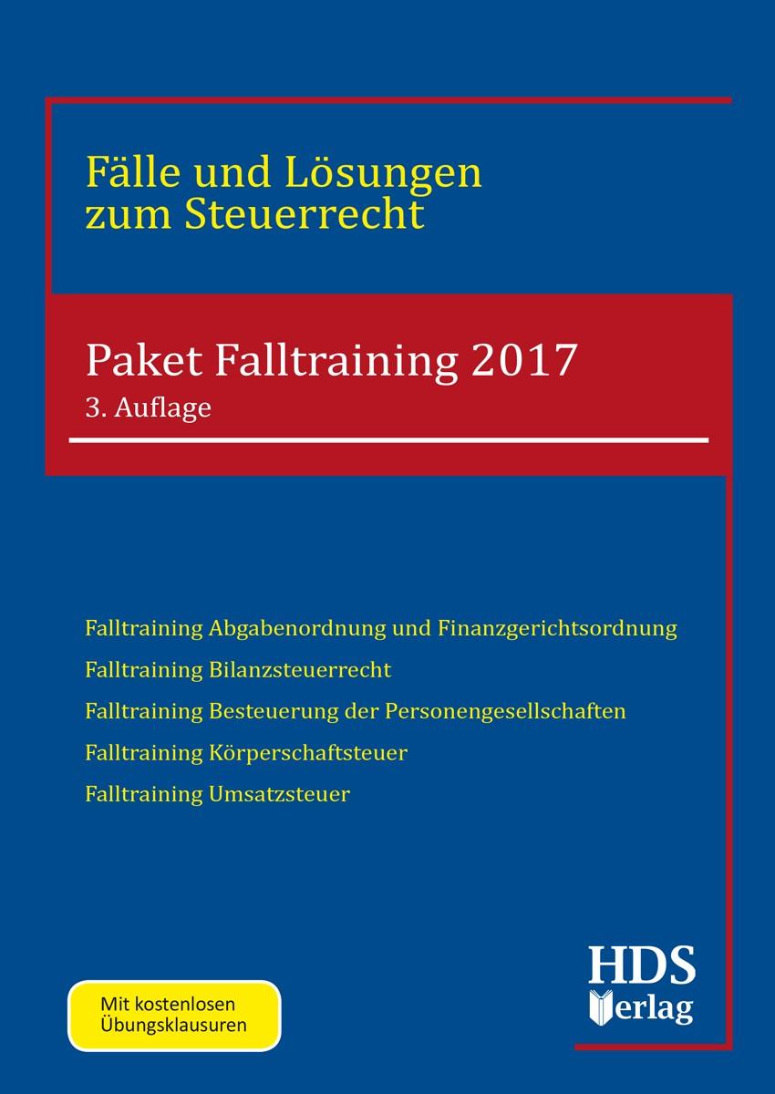 Paket Falltraining 2017/2018 | 3. Auflage, 2017 | Buch (Cover)