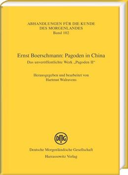 Abbildung von Walravens | Ernst Boerschmann: Pagoden in China | 1. Auflage | 2016 | beck-shop.de