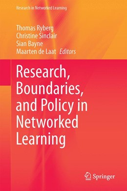 Abbildung von Ryberg / Sinclair   Research, Boundaries, and Policy in Networked Learning   1. Auflage   2016   beck-shop.de