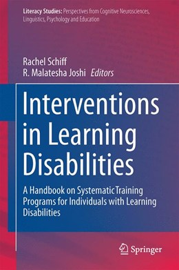 Abbildung von Schiff / Joshi | Interventions in Learning Disabilities | 1st ed. 2016 | 2016 | A Handbook on Systematic Train... | 13