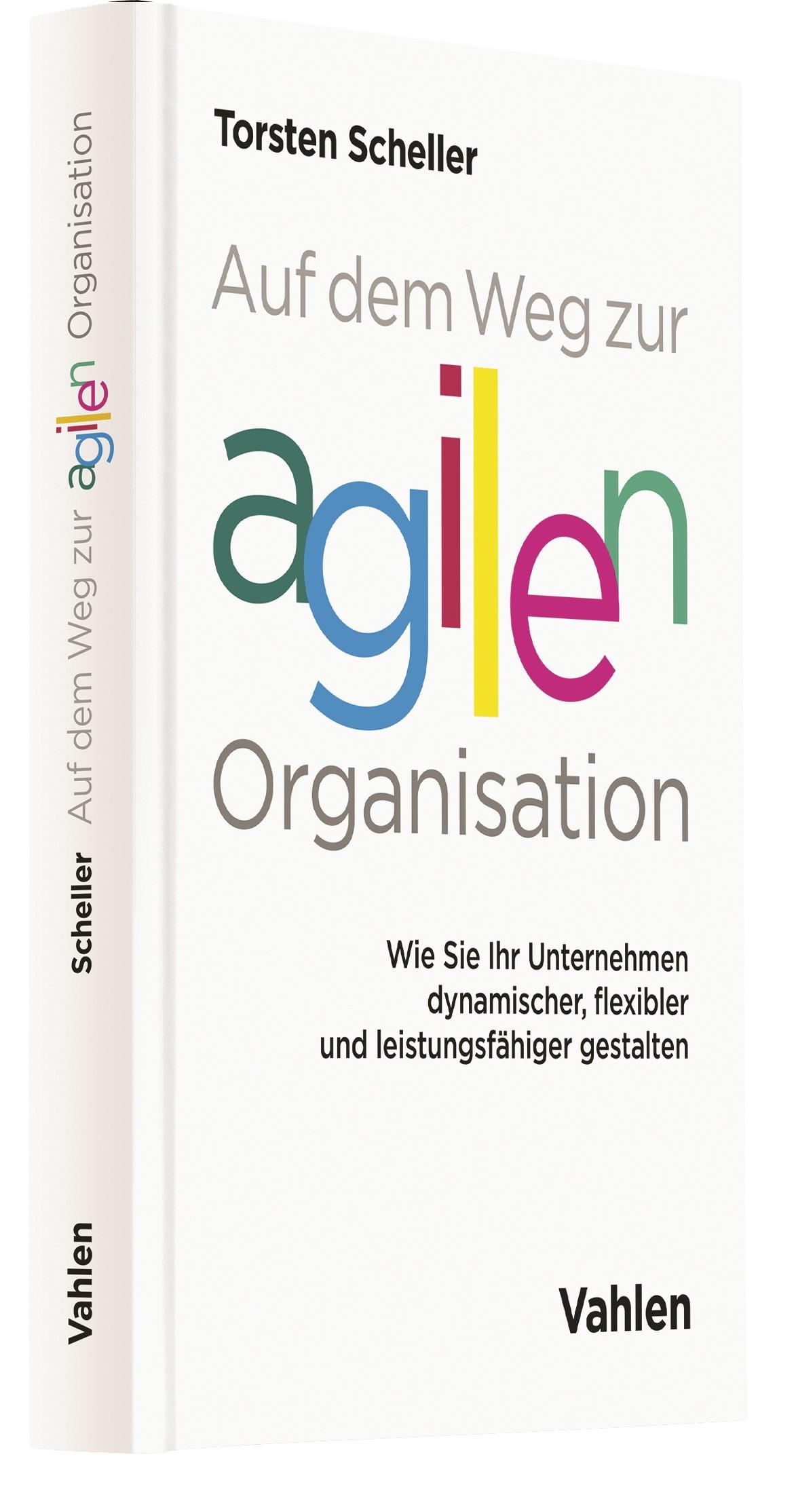 Abbildung von Scheller   Auf dem Weg zur agilen Organisation   2017