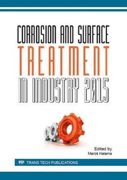 Abbildung von Halama | Corrosion and Surface Treatment in Industry | 1. Auflage | 2016 | Volume 844 | beck-shop.de