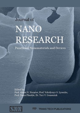 Abbildung von Nazarov / Lysenko / Flandre / Gomeniuk | Journal of Nano Research Vol. 39 | 2016 | Functional Nanomaterials and D...