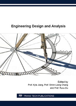 Abbildung von Jiang / Chang / Du | Engineering Design and Analysis | 2016 | Collection of selected, peer r...