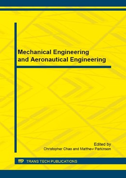 Abbildung von Chao / Parkinson | Mechanical Engineering and Aeronautical Engineering | 2016 | Collection of selected, peer r...