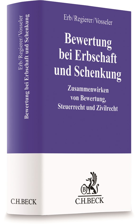 Bewertung bei Erbschaft und Schenkung | Erb / Regierer / Vosseler, 2018 | Buch (Cover)