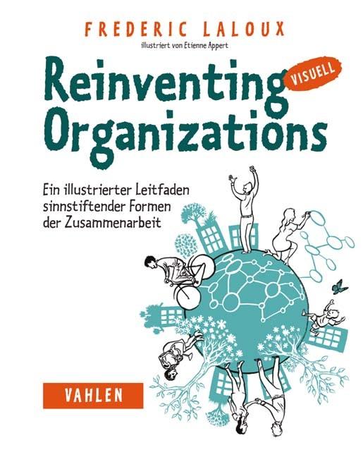 Abbildung von Laloux | Reinventing Organizations visuell | 2017
