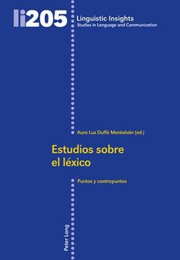 Abbildung von Duffé Montalván | Estudios sobre el léxico | 2016 | Puntos y contrapuntos | 205