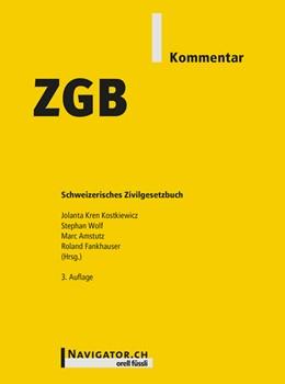 Abbildung von Kren Kostkiewicz / Amstutz | ZGB Kommentar | 1. Auflage | 2016 | beck-shop.de
