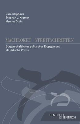 Abbildung von Kramer / Stein / Klapheck   Bürgerschaftliches politisches Engagement als jüdische Praxis   2016   2