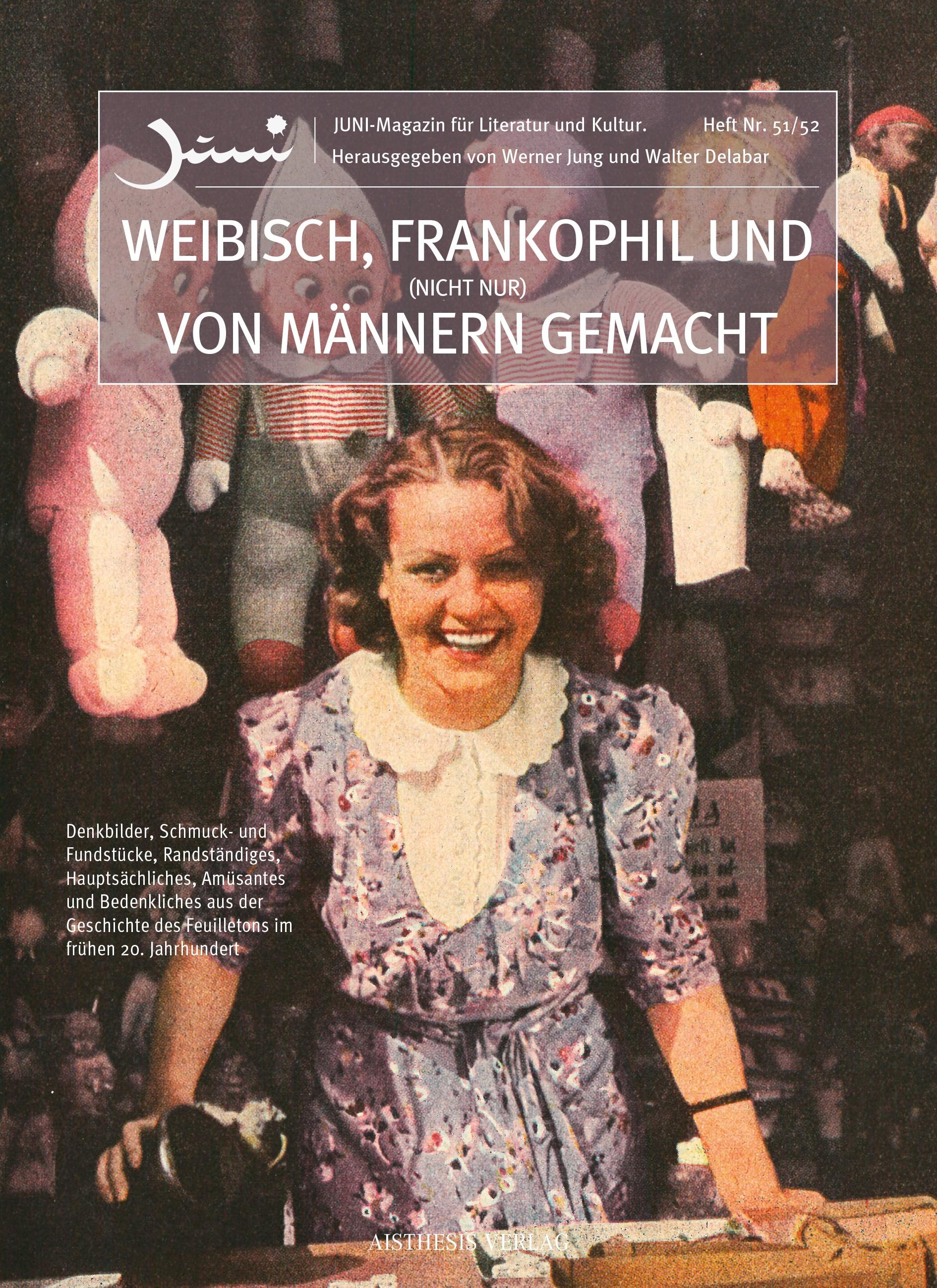 Weibisch, frankophil und (nicht nur) von Männern gemacht | Jung / Delabar | 1., Erstauflage, 2016 | Buch (Cover)
