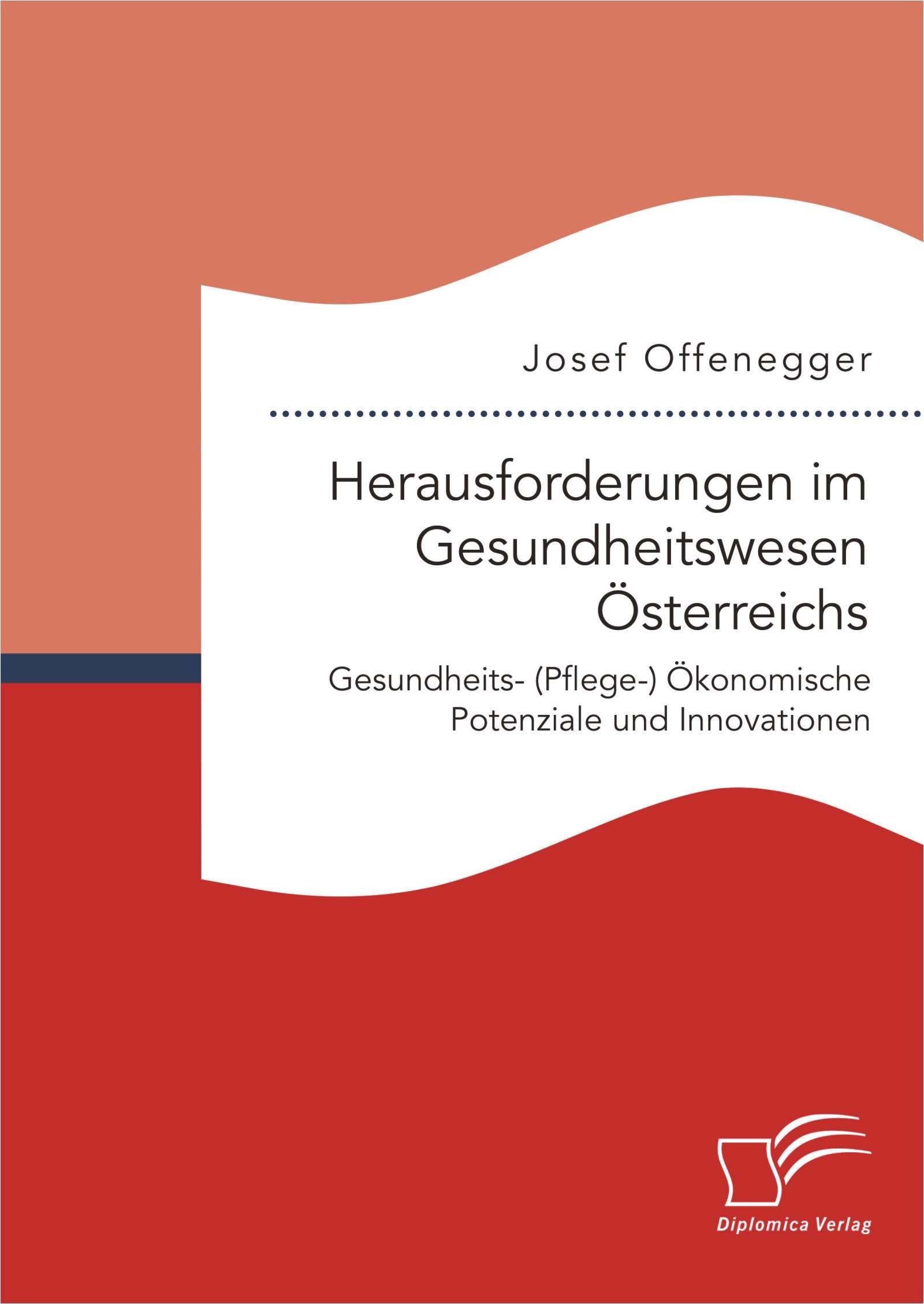 Herausforderungen im Gesundheitswesen Österreichs. Gesundheits- (Pflege-) Ökonomische Potenziale und Innovationen   Offenegger   Erstauflage, 2016   Buch (Cover)