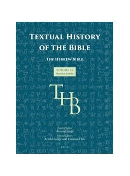 Abbildung von Lange / Tov   Textual History of the Bible Vol. 1A   2016   1A