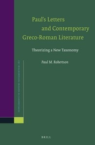 Abbildung von Robertson | Paul's Letters and Contemporary Greco-Roman Literature | 2016