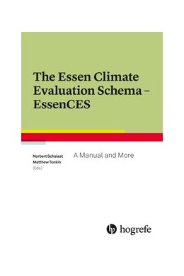 Abbildung von Schalast / Tonkin | The Essen Climate Evaluation Schema EssenCES | 2016 | A Manual and More