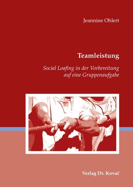 Teamleistung | Ohlert, 2009 | Buch (Cover)