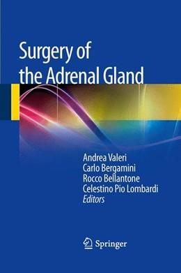 Abbildung von Valeri / Bergamini / Bellantone / Lombardi | Surgery of the Adrenal Gland | 2013 | 2012