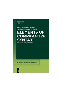 Abbildung von Aboh / Haeberli | Elements of Comparative Syntax | 1. Auflage | 2017 | beck-shop.de