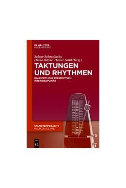 Abbildung von Schmolinsky / Hitzke / Stahl   Taktungen und Rhythmen   2018   Raumzeitliche Perspektiven int...