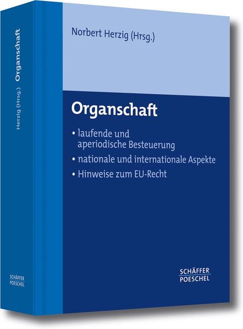 Organschaft | Herzig / Rödder | 2. grundlegend überarbeitete Auflage, 2018 | Buch (Cover)