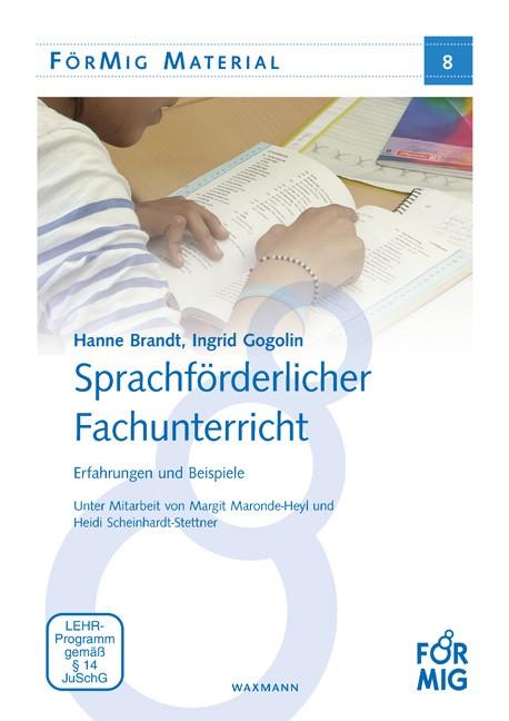 Sprachförderlicher Fachunterricht   Brandt / Gogolin, 2016   Buch (Cover)