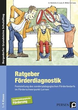Abbildung von Heimlich   Ratgeber Förderdiagnostik   1. Auflage   2016   beck-shop.de