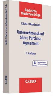 Unternehmenskauf - Share Purchase Agreement | Kästle / Oberbracht | 3. Auflage, 2018 | Buch (Cover)