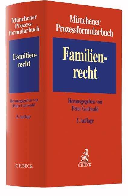 Münchener Prozessformularbuch, Band 3: Familienrecht | 5. Auflage, 2017 | Buch (Cover)