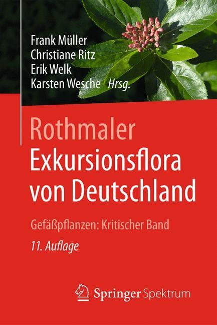 Abbildung von Jäger / Werner | Rothmaler, Exkursionsflora von Deutschland | 11., vollständig überarbeitete Auflage | 2016