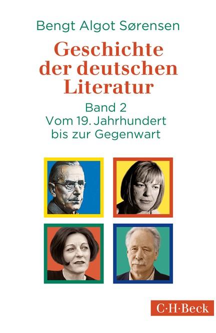 Cover: , Geschichte der deutschen Literatur Bd. II: Vom 19. Jahrhundert bis zur Gegenwart